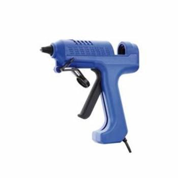 Pistola incollatrice a caldo 25W-100W 240V con 10 Stick colla D. 11,2mm