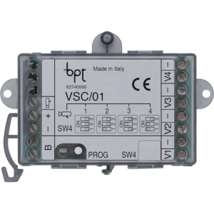Came Bpt 62740060 modulo 4 ingressi video CVBS - VSC01