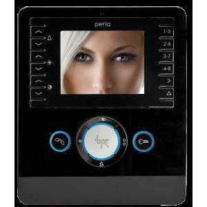 BPT PERLA Videocitofono vivavoce colore nero PER SISTEMI X1, XIP E 300