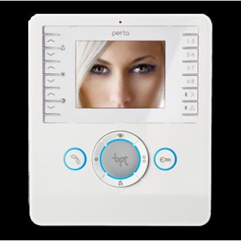 BPT PERLA Videocitofono vivavoce colore bianco PER SISTEMI X1, XIP E 300