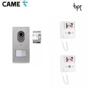 BPT LYTOS-AGATA - Kit Videocitofono bifamiliare cod.62621040 e 6210370