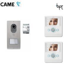 BPT LYTOS-PERLA - Kit Videocitofono bifamiliare cod.62621040 e 62100190