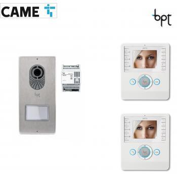 BPT LYTOS-PERLA - Kit Videocitofono bifamiliare cod.62621040 e 62100180