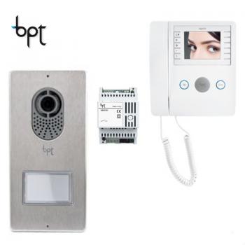 BPT LYTOS-AGATA - Kit Videocitofono monofamiliare cod.62621040 e 6210370