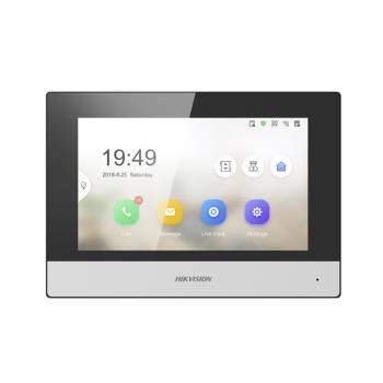 HIKVISION - DS-KH6320-WTE1 Monitor Videocitofonico Touch Screen WI-FI 7''