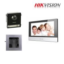 Hikvision Kit Intercom IP monofamiliare espandibile