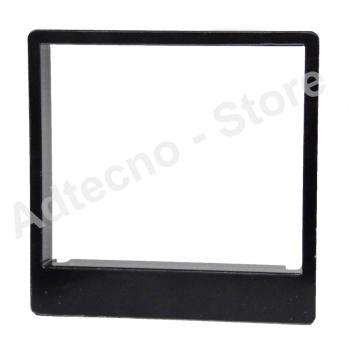 """CAME 001STLCDFN - Cornice per tastiera capacitiva """"Flat"""" colore nero"""