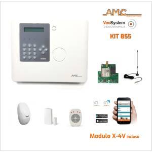 AMC Kit XR800 - 64 zonas con módulo GPRS