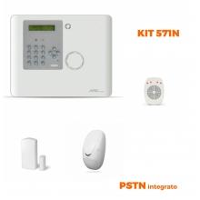 AMC Kit 570 Centrale Wireless XR800 64 zone con PSTN