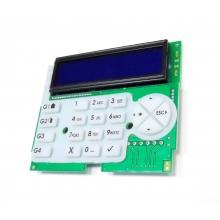AMC - K-lcd Blue - Scheda di ricambio Tastiera remota retroilluminata x serie X