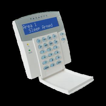 PARADOX K32LCD - Tastiera con visualizzatore alfanumerico LCD