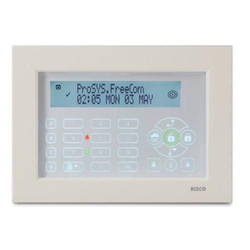 RISCO RP128KP0200A - Tastiera Touchscreen per Prosys e Lightsys colore Bianco  eBay