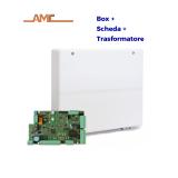 AMC X412 - Centrale antifurto SERIE X con box e trasformatore