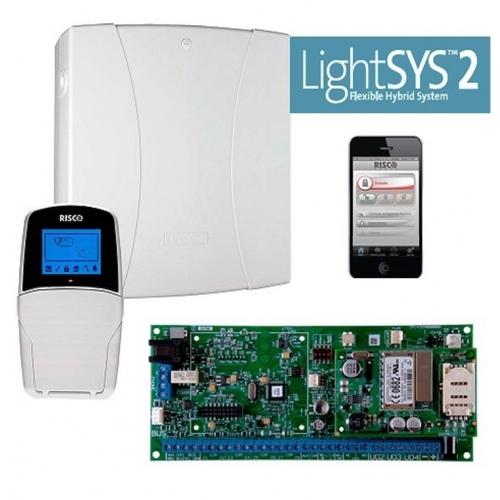 RISCO RP432P000EUC - Kit LighSYS, Centrale + Box + Alimentatore