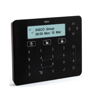 RISCO RPKEL0B0000A Tastiera touch ELEGANT Nera per ProSYS™ Plus e LightSYS™2: