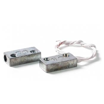 Contatto magnetico rettangolare in metallo montaggio a vista - FDP A-R3