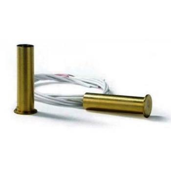 Contatto magnetico in ottone ad incasso - FDP A-S10