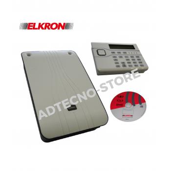 Elkron Kit antintrusione ibrido espandibile fino a 40 zone MB10-40