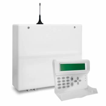 AMC - KIT Centrale antifurto C24GSM plus + KRADIO 8 zone filari+16 Wireless