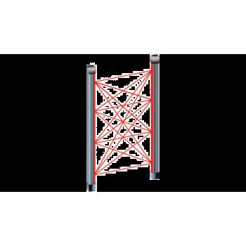 Came BI615 Barriera a raggi infrarossi per porte e finestre. Altezza 1,5 m