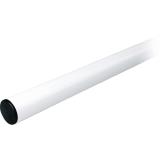 CAME G0602 Asta a sezione tubolare in alluminio verniciato bianco.Ø 100 mm, lunghezza asta: 6,85