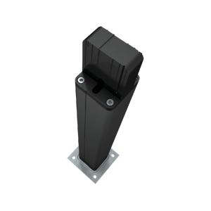 CAME DELTA-BN Colonnina alluminio anodizzato nero H 500