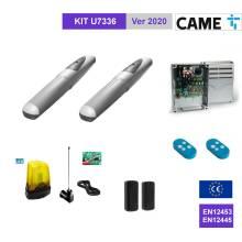 CAME U7336 KIT Completo cancello 2 battenti fino a 3 mt anta con encoder
