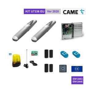 CAME U7336 EU KIT Completo cancello 2 battenti fino a 3 mt anta con encoder