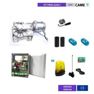 CAME FROG A24E - KIT de automatización para portón subterráneo de 2 hojas 24V
