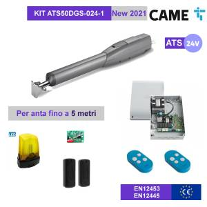 CAME ATS50DGS-024-1 - KIT Automazione 24V cancello 1 battente fino a 5mt