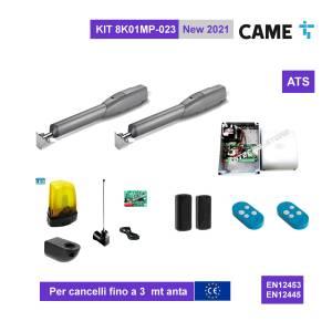 CAME ATS  8K01MP-023 - KIT Automazione cancello 2 battenti fino a 3mt