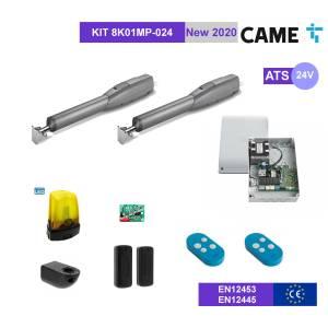 CAME ATS 8K01MP-024 - KIT Automazione 24V cancello 2 battenti fino a 3mt
