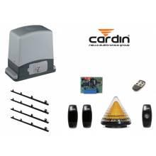 CARDIN Kit automazione cancello scorrevole max 600 kg Cardin SLEVO 600 con cremagliera