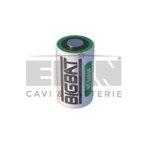 Batteria Big Bat litio 3,6 volt  ER14250  1/2  AA