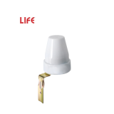 LIFE INTERRUTTORE CREPUSCOLARE, 10A, REGOLAZIONE 5-50 LUX, 220V, 2200W max, IP44
