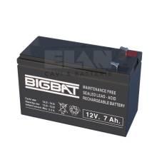 ELAN 01207 - Batteria 12V 7Ah