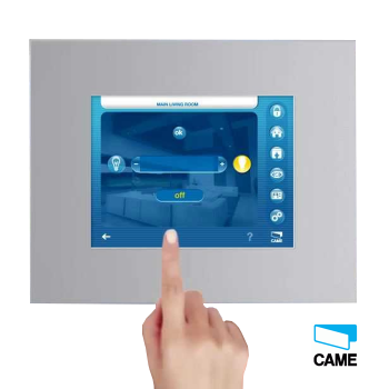 """Came hei bus Terminale touchscreen domotica 8.4"""" 800x600 - CAME 002DTS800C"""