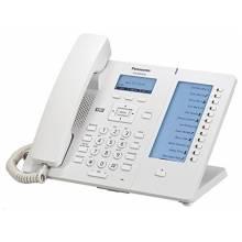PANASONIC KX-HDV230NE Telefono IP 6 linee LCD Bianco
