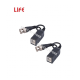 LIFE Video Balun,BNC in Rame con 9cm di cavo