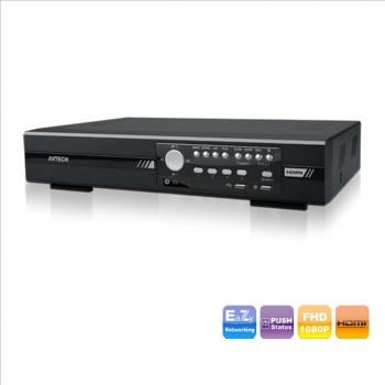 AVTECH DG1004A - DVR 4 Canali HD-TVI DVR Tribrido TVI-CVBS- IP (2 CH)