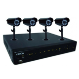 KIT DVR 4ch + 4 telecamere IR LED - KRAUN KK-21
